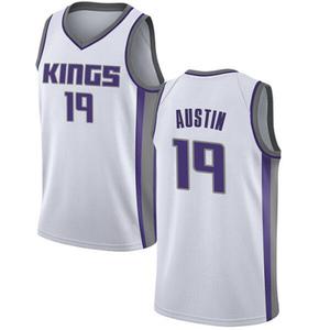 Nike Sacramento Kings Swingman White Brandon Austin Jersey - Association Edition - Youth