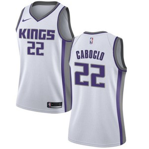 Nike Sacramento Kings Swingman White Bruno Caboclo Jersey - Association Edition - Women's