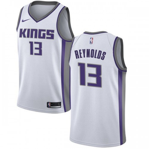 Nike Sacramento Kings Swingman White Cameron Reynolds Jersey - Association Edition - Men's