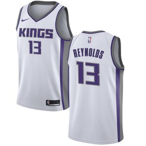 Nike Sacramento Kings Swingman White Cameron Reynolds Jersey - Association Edition - Youth