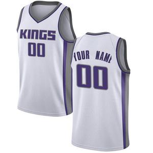 Nike Sacramento Kings Swingman White Custom Jersey - Association Edition - Youth