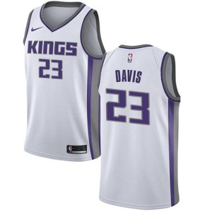 Nike Sacramento Kings Swingman White Deyonta Davis Jersey - Association Edition - Youth