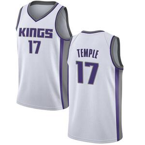 Nike Sacramento Kings Swingman White Garrett Temple Jersey - Association Edition - Men's