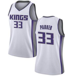 Nike Sacramento Kings Swingman White Jabari Parker Jersey - Association Edition - Women's