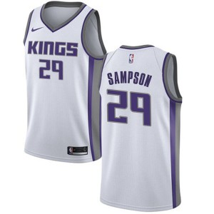 Nike Sacramento Kings Swingman White Jakarr Sampson Jersey - Association Edition - Men's