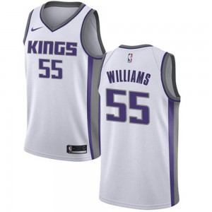 Nike Sacramento Kings Swingman White Jason Williams Jersey - Association Edition - Youth