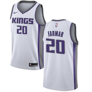 Nike Sacramento Kings Swingman White Jordan Farmar Jersey - Association Edition - Men's