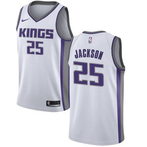 Nike Sacramento Kings Swingman White Justin Jackson Jersey - Association Edition - Men's