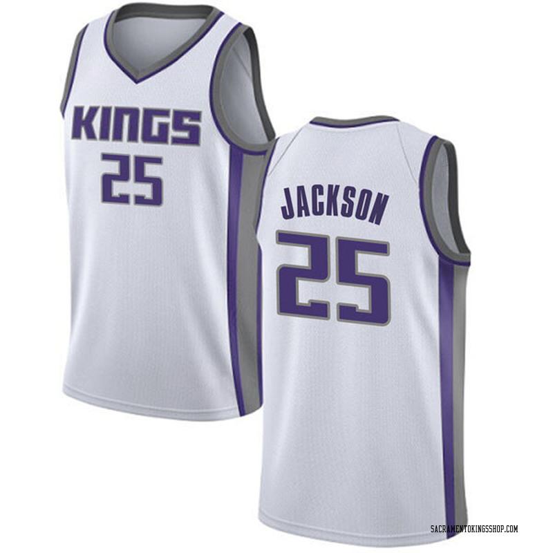 Nike Sacramento Kings Swingman White Justin Jackson Jersey - Association Edition - Men's