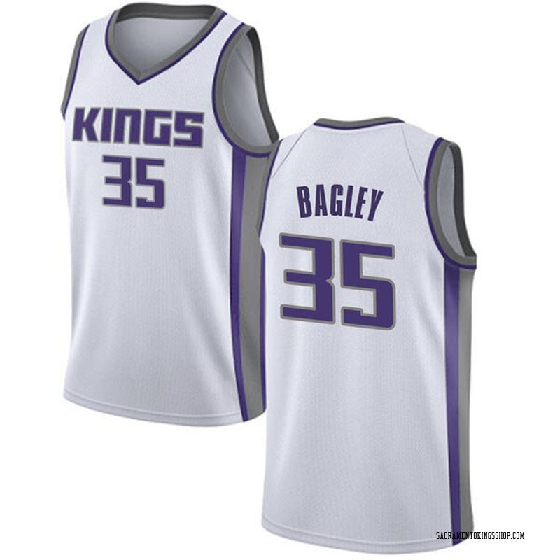 Nike Sacramento Kings Swingman White Marvin Bagley III Jersey - Association Edition - Men's