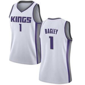 Nike Sacramento Kings Swingman White Marvin Bagley III Jersey - Association Edition - Women's