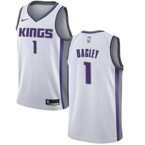 Nike Sacramento Kings Swingman White Marvin Bagley III Jersey - Association Edition - Youth