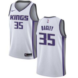 Nike Sacramento Kings Swingman White Marvin Bagley III Jersey - Association Edition - Youth