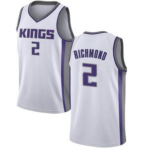 Nike Sacramento Kings Swingman White Mitch Richmond Jersey - Association Edition - Men's