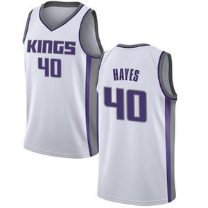 Nike Sacramento Kings Swingman White Nigel Hayes Jersey - Association Edition - Men's