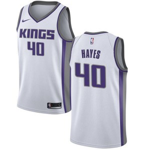 Nike Sacramento Kings Swingman White Nigel Hayes Jersey - Association Edition - Youth