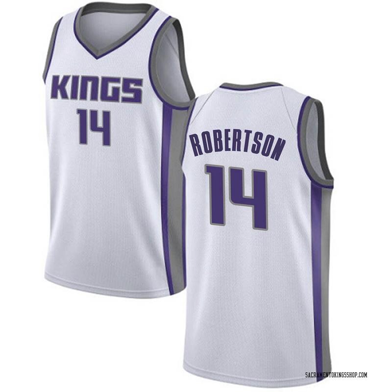 Nike Sacramento Kings Swingman White Oscar Robertson Jersey - Association Edition - Men's