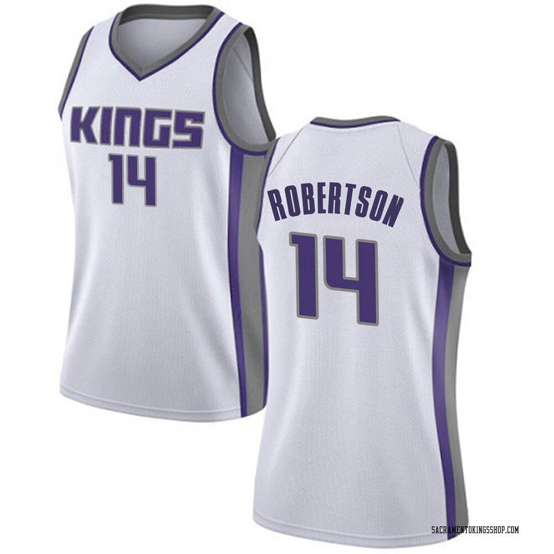Nike Sacramento Kings Swingman White Oscar Robertson Jersey - Association Edition - Women's