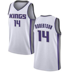 Nike Sacramento Kings Swingman White Oscar Robertson Jersey - Association Edition - Youth