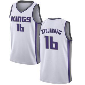 Nike Sacramento Kings Swingman White Peja Stojakovic Jersey - Association Edition - Men's