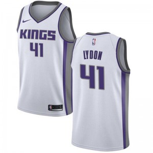Nike Sacramento Kings Swingman White Tyler Lydon Jersey - Association Edition - Men's
