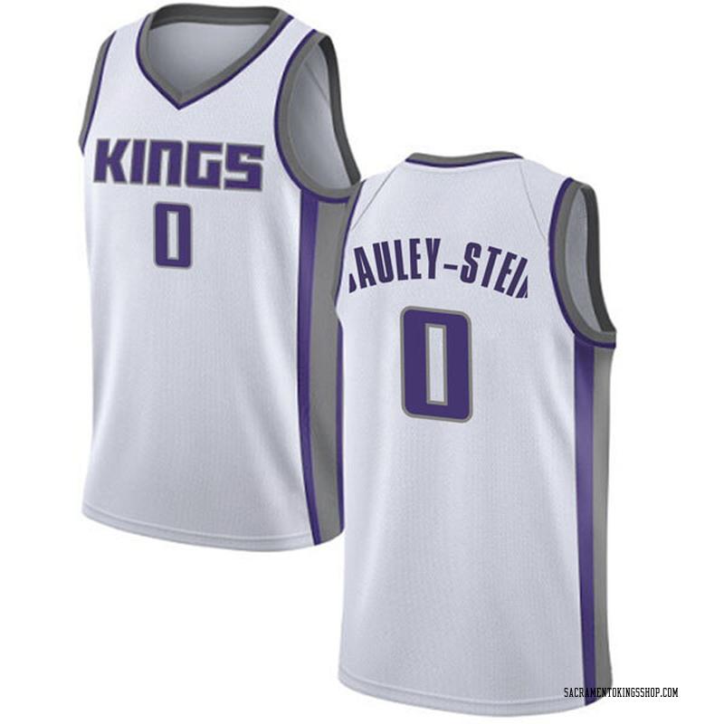 Nike Sacramento Kings Swingman White Willie Cauley-Stein Jersey - Association Edition - Youth