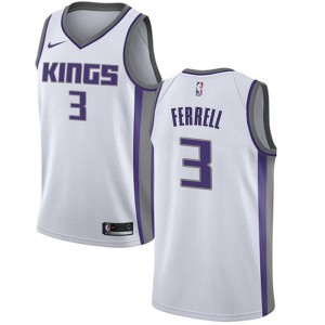 Nike Sacramento Kings Swingman White Yogi Ferrell Jersey - Association Edition - Youth