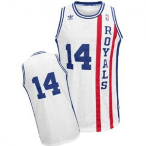 Adidas Sacramento Kings Swingman White Oscar Robertson Throwback Jersey - Men's