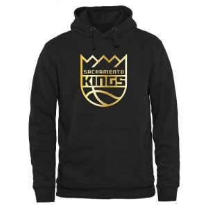Sacramento Kings Gold Collection Pullover Hoodie - Black - Men's