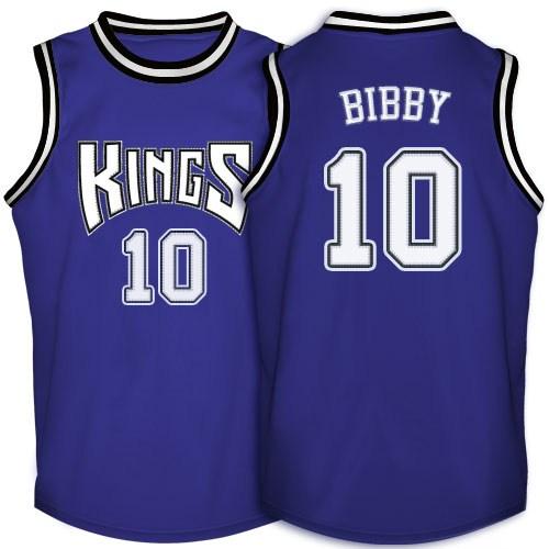 Adidas Sacramento Kings Authentic Purple Mike Bibby Throwback Jersey - Men s 84c1bc82c