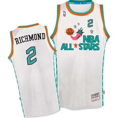 60a0d0a9a30 Mitchell and Ness Sacramento Kings Swingman White Mitch Richmond 1996 All  Star Throwback Jersey - Men s